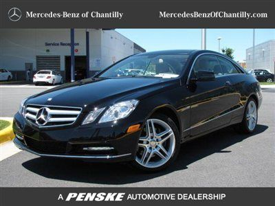 Purchase Used 2012 Mercedes Benz E350 Coupe Black Tan P1