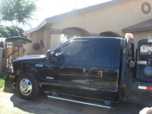 Purchase Used 2005 Ford F 350 Flatbed Service Truck Sale