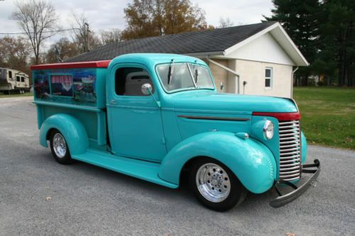 Interior Truck 1939 Chevy