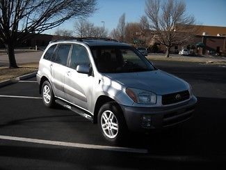 Sell Used 2001 Toyota Rav4 L 4x4 Sunroof Auto Cd Free