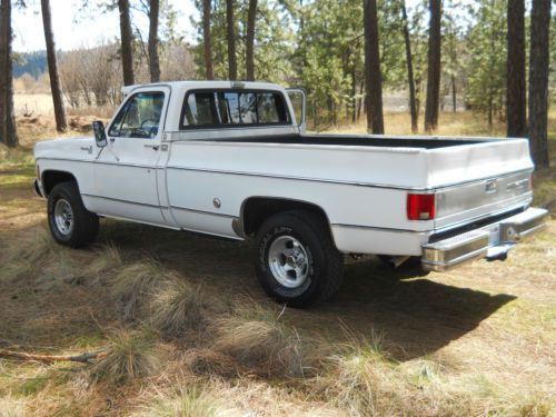 4x4 Chevy 1976 Silverado