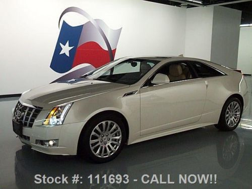 Find Used 2012 Cadillac Cts 3 6 Performance Coupe Sunroof