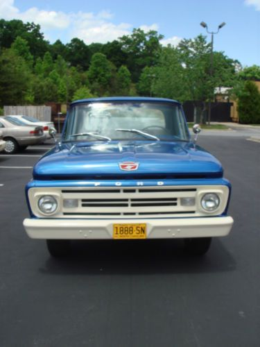 1966 Parts Body Pick Ford