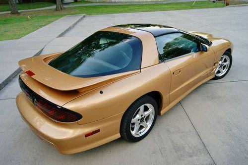 1998 Pontiac Firebird Trans Am Coupe Gold
