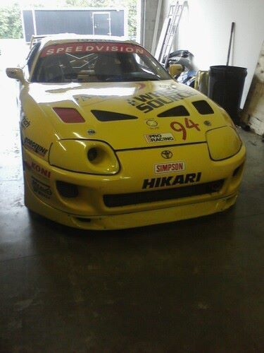 Purchase New 1997 Toyota Supra Speedvision Gt Cup Car