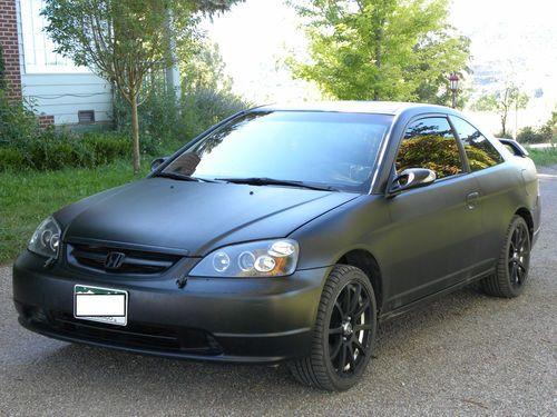 Custom 2 Door Honda Civic