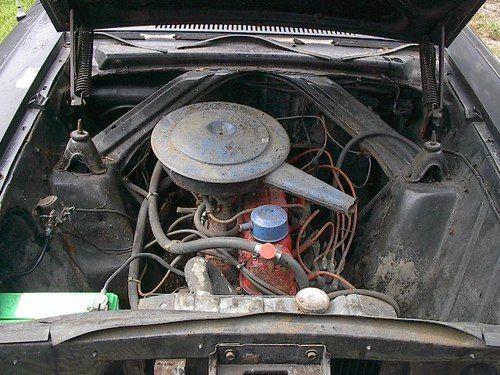 1962 Ford Falcon Engine