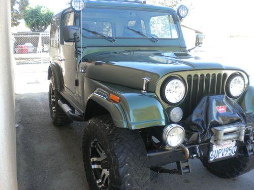 Purchase Used 1980 Jeep Cj7 4x4 In Bellflower California