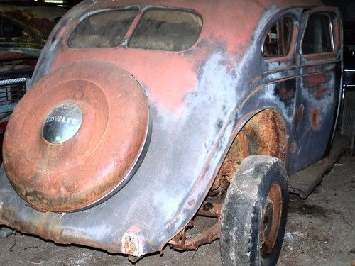 1934 Chrysler Coupe Parts