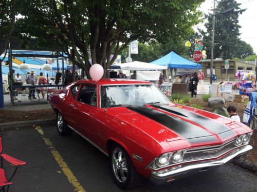 Find Used 1968 Chevelle Fully Restored Red With Black