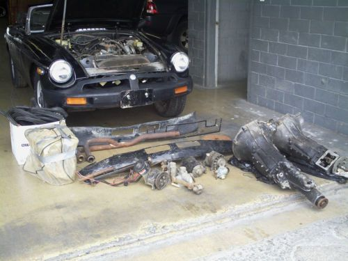 Sell Used 1980 Mgb Dual Carb Overdrive Transsmison In San