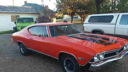 Chevelle 396 Coupe 1968 Chevrolet Ss Hardtop