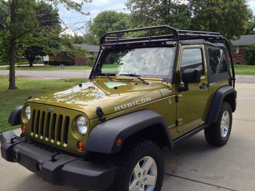 2007 Jeep Wrangler Soft Top