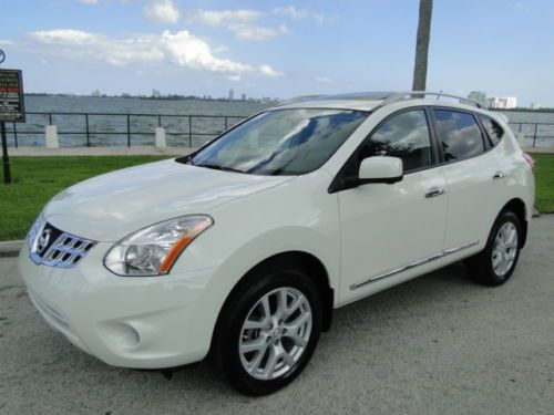 2013 Options Sl Interior Rogue Nissan Leather