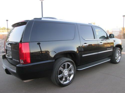 Buy Used 2008 Caddlillac Esv Super Cheap With Limo Options