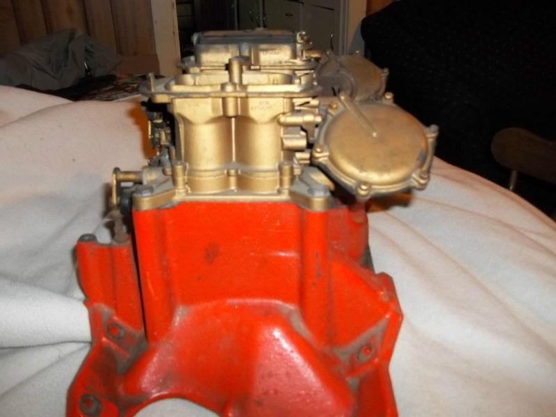 Sell Original Aar Cuda 340 Six Pack Intake Carbs