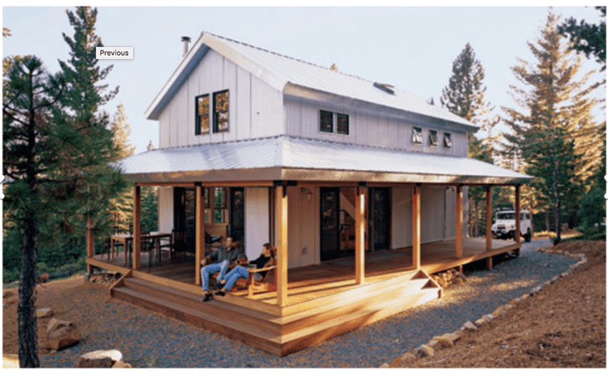 Top 15 Energy Efficient Homes and Eco Friendly Home Design Elements     House made of SIPs