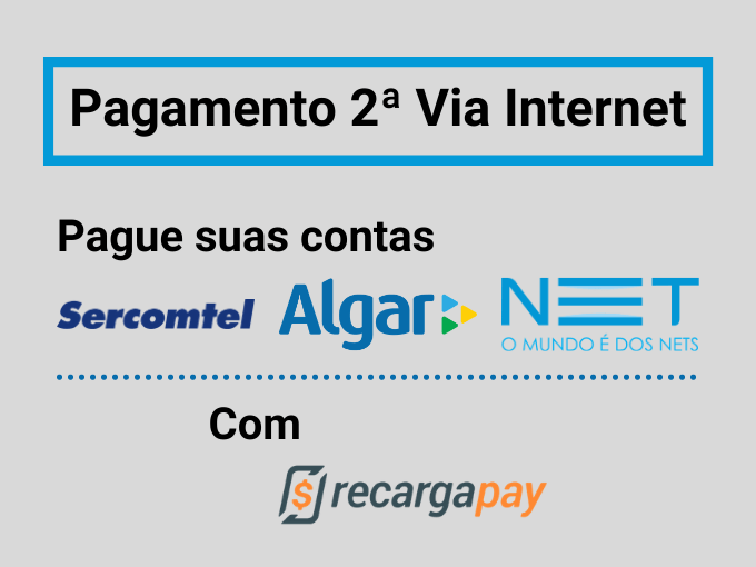 Pagamento 2ª Via Internet
