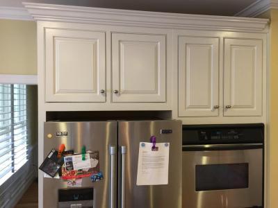 Balboa Mist Kitchen Update - 2 Cabinet Girls