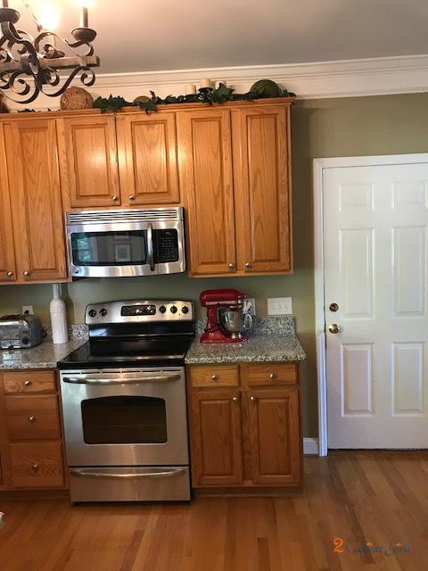 Pearly White Oak Kitchen Upgrade 2 Cabinet Girls