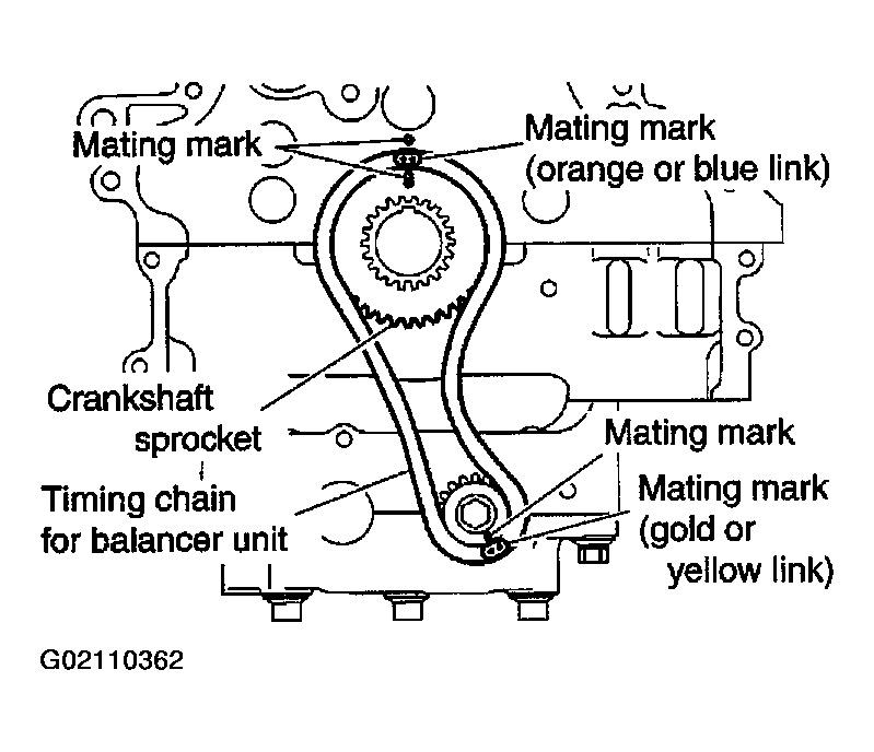 Marks Altima Chain 2002 Timing Nissan