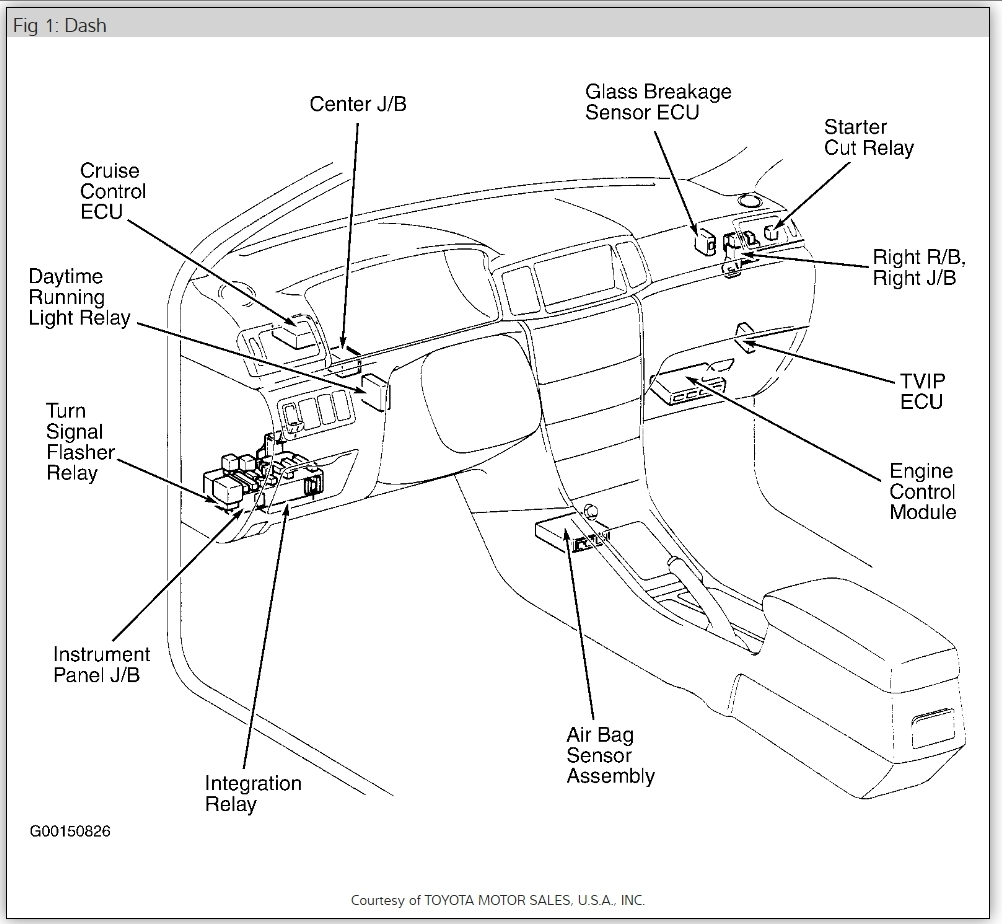 Toyota Corolla 1990 Starter Relay