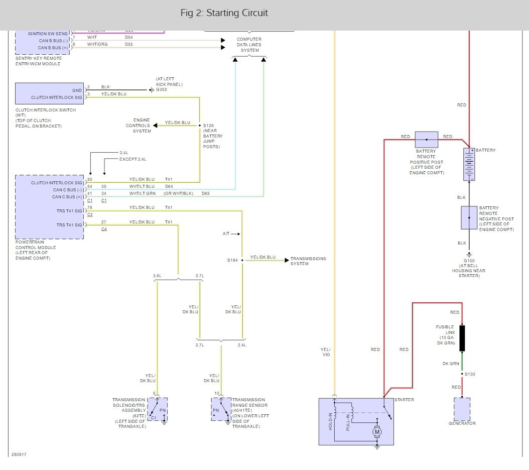 08 Avenger Wiring Diagram Schematics Diagrams 2008 Dodge 2 7 Liter Engine Grand Am