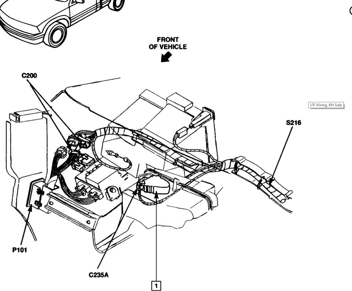 95 Gmc Jimmy Vacuum Hose Diagram