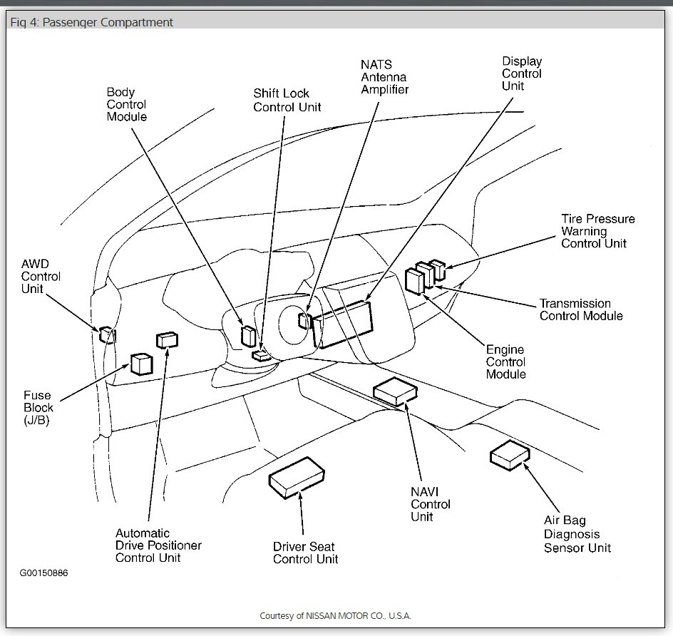 2009 Infiniti Fx35 Fuse Box Diagram Fx