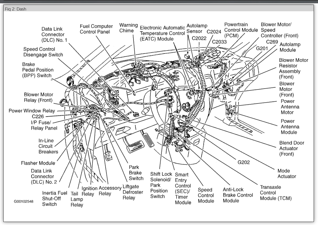 1999 Mercury Villager Engine Diagram Belt For A Van