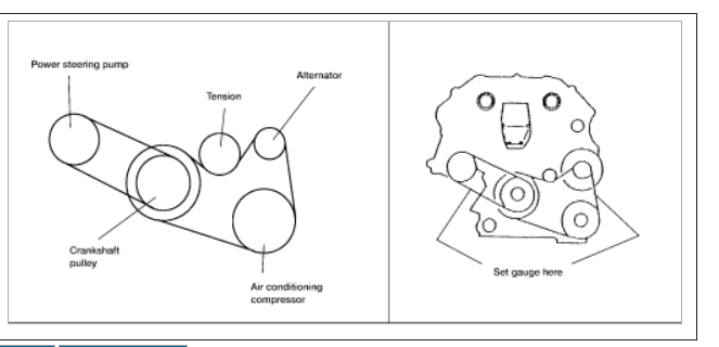 2005 Nissan Altima Pulley Diagram