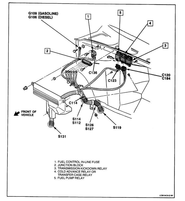 1993 Block Firing Small 350 Order Chevy