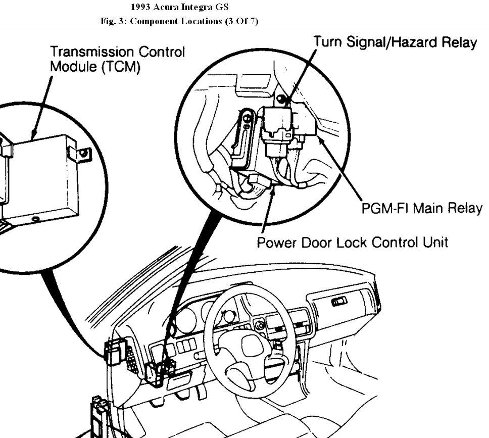 1991 Acura Integra Engine Diagram