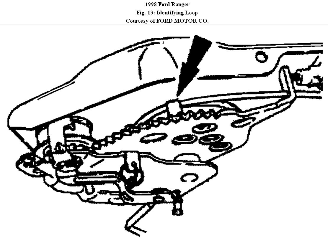 1998 ford ranger front brake cable replacement on 1997 ford f250 parts diagram