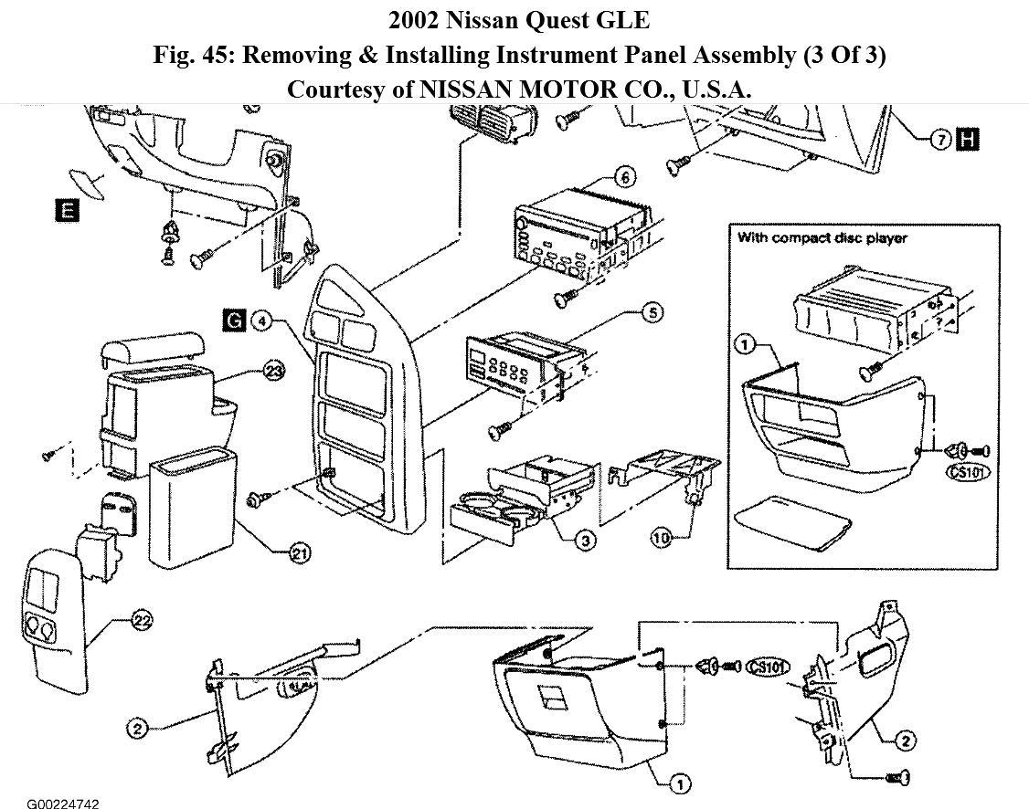 Nissan quest instrument cluster wiring diagram 1999 nissan frontier radio wiring diagram wiring engine diagram