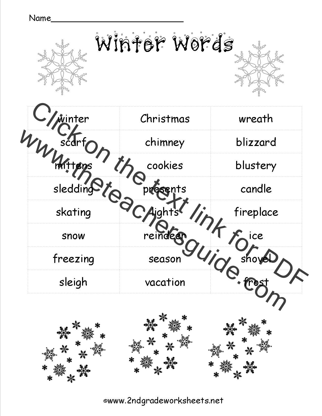 christmas worksheets printables
