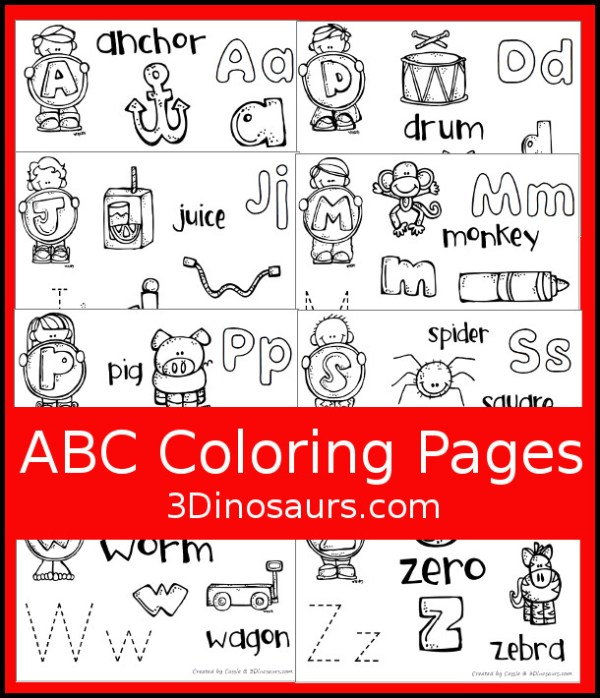 abc coloring page # 41