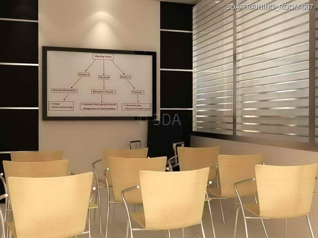 3da Training Room Interior Design
