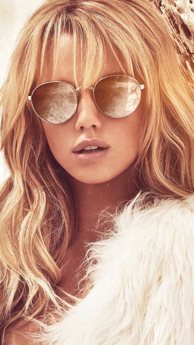 Glass On Girls : Blonde Wallpaper for iPhone X, 8, 7, 6 ...