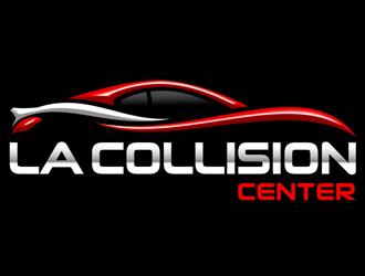 La Collision Center Logo Design 48hourslogo Com