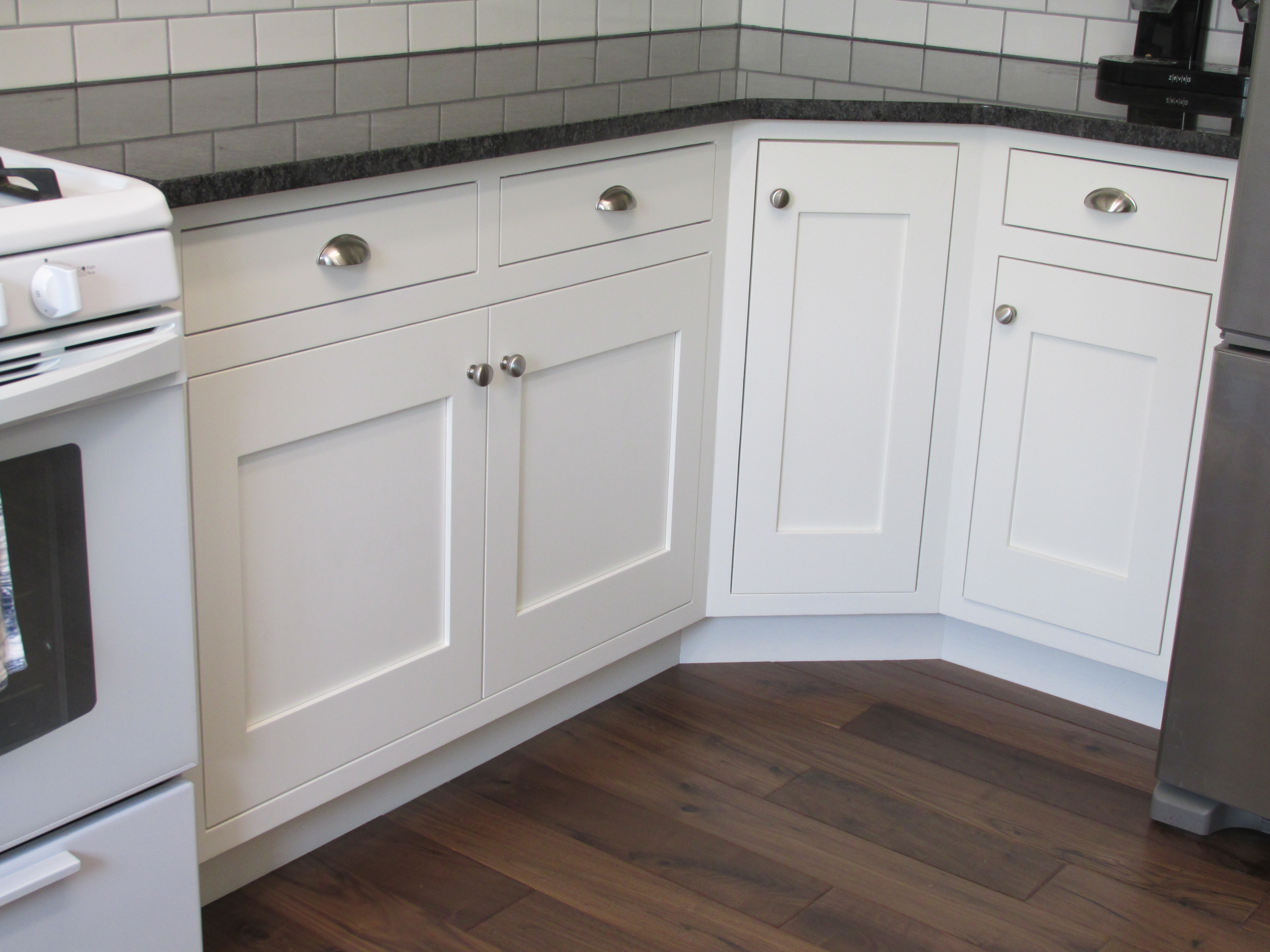 Best Kitchen Gallery: Kitchen Makeover From Partial Overlay To Inset of Flush Inset Kitchen Cabinets on cal-ite.com