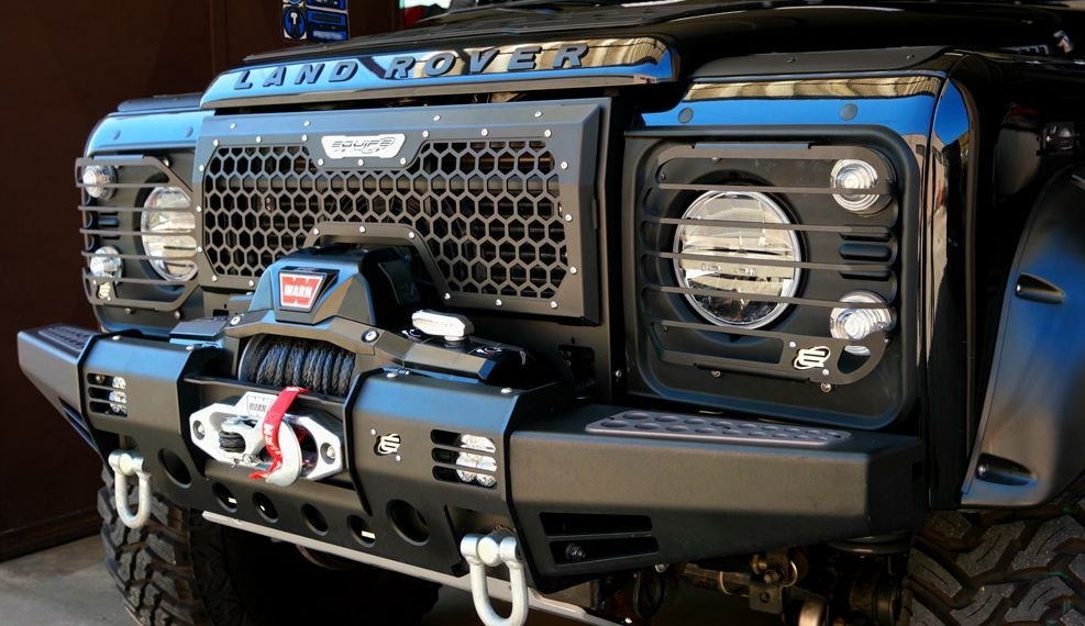 4x4 Outdoor Tuning High Frame Honeycomb Front Grille