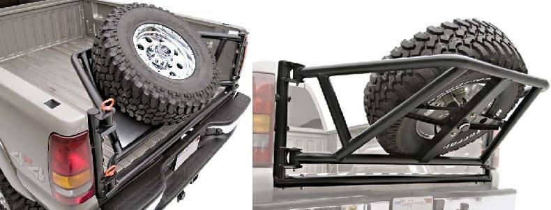 4x4 Parts Frontier Rear Tire Carrier 0apreartire05