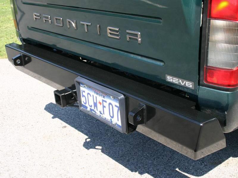 4x4 Parts Frontier Rear Bumper Apswg1frontrearbump
