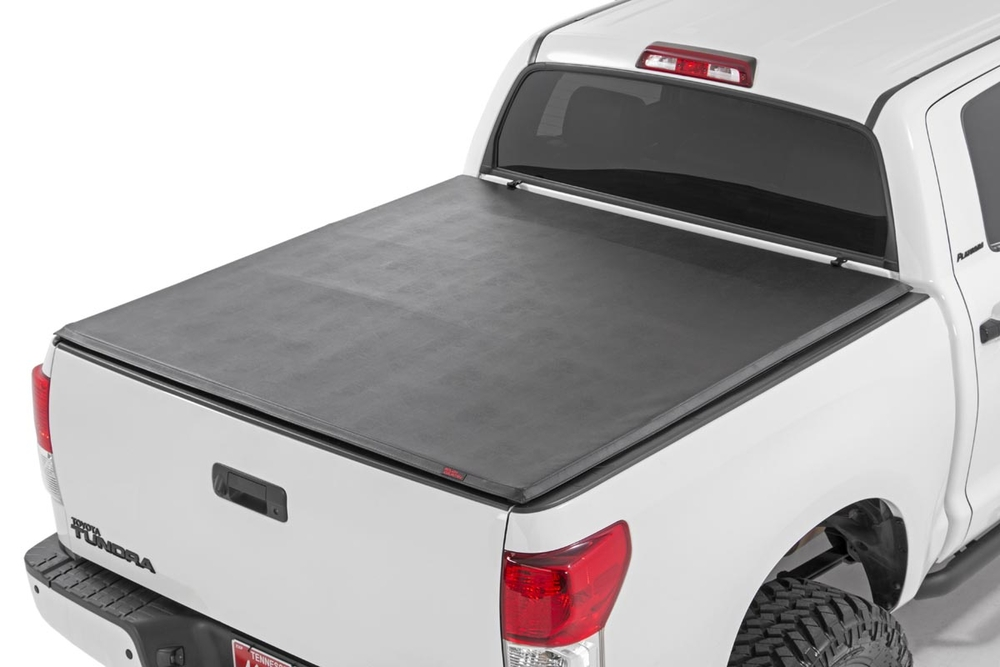 Soft Tri-Fold Tonneau Bed Cover (6.5-foot Bed) | Truck Bed ...