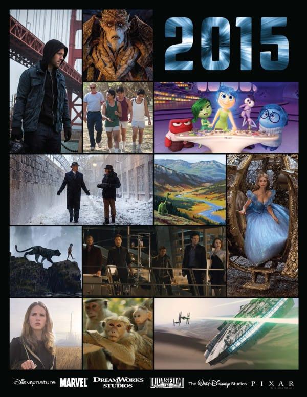 2015 Walt Disney Pictures Upcoming Releases