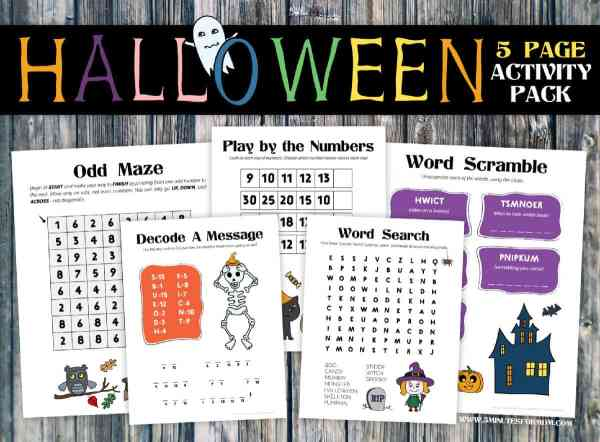 free halloween printables for kids # 3