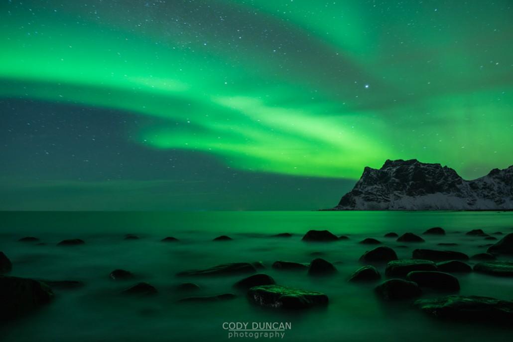 Northern Lights And Midnight Sun