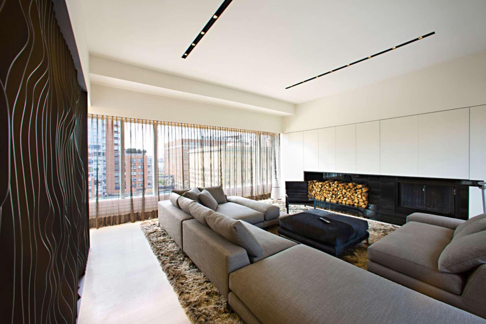 Step Down Living Room Ideas