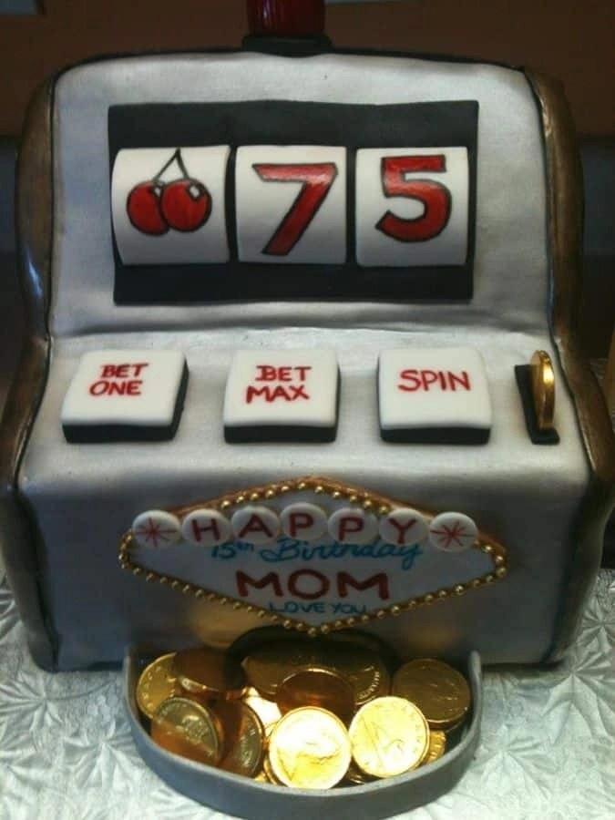 Happy 75th Birthday Cake Images